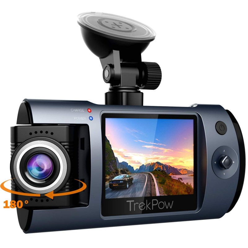 ABOX Dash Cam, Trekpow By ABOX HD 1080P Car DVR Dashboard Camera
