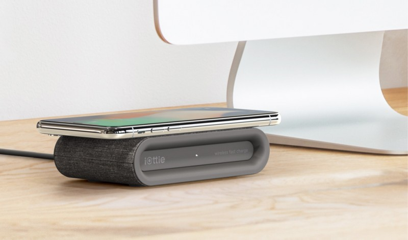 iOttie iON Wireless Mini Fast Charger Qi-Certified Ultra Compact Charging Pad