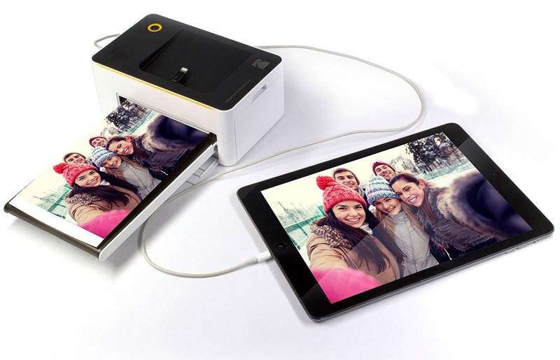 Kodak Dock & Wi-Fi Portable 4x6-Inch Instant Photo Printer