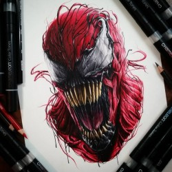 Carnage by Benjamin Davis, Drawing