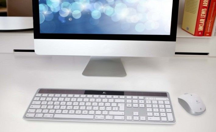 Wireless Solar Keyboard by Logitech
