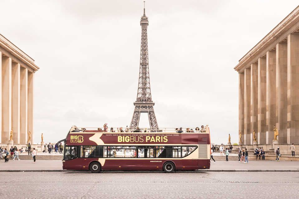 Paris Hop-on Hop-off Bus Tour: Classic, Premium or Deluxe