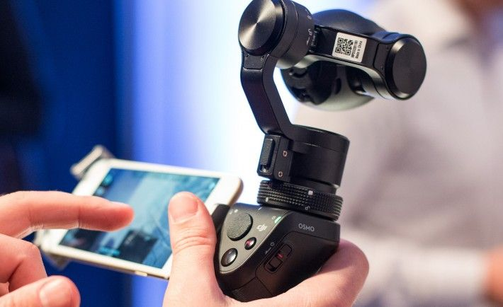 Osmo Handheld 4K Camera by DJI