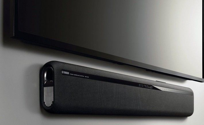 Yamaha YAS-106 Sound Bar with Dual Built-In Subwoofers